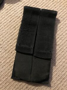 """Ex Police Twin Magazine Pouch for 2"""" Kit Belt. Used. 666."""