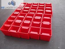 40x EK 551 rot Lagerkisten Einsatzkästen Kasten Kisten Behälter Box 55x55x40mm