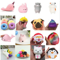 Jumbo Cute Stress Pressure Reliever Scented Squishy Squeeze Toy Phone Charm Gift