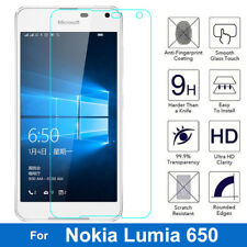 100% Genuine Tempered Glass Screen Protector For Nokia Microsoft Lumia 650