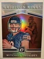 Mitchell Trubisky RC 2017 Optic Holo Prizm Rookie Gridiron Kings Chicago Bears