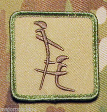 CHINESE HEAD SYMBOL USA ARMY MORALE MULTICAM VELCRO® BRAND FASTENER PATCH