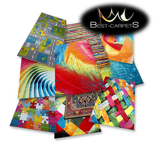 "AMAZING modern colorful RUGS ""PAINT"" 17 Pattern for children BEST-CARPETS"