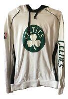 Felpa con cappuccio da uomo Adidas NBA Celtics Maglia Basket hoodies Cotone Tg L