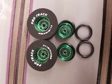 Pro Track N406B Green Stars 1 5/16 x 435 & 411B Green Fronts Drag Tires