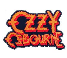 OZZY OZBOURNE BACK PATCH HEAVY METAL LARGE SIZE 9.5x6 INCHES BLACK SABBATH