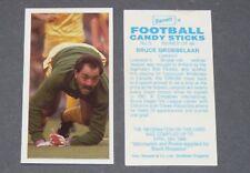 GUM CARD BARRATT BASSETT FOOTBALL 1988-1989 #3 GROBBELAAR LIVERPOOL REDS ANFIELD