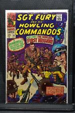 Sgt Fury and His Howling Commandos #44 Marvel Silver Age Comic 1967 Stan Lee 3.5