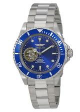 INVICTA MEN'S PRO DIVER STEEL BRACELET & CASE AUTOMATIC BLUE DIAL WATCH 20434