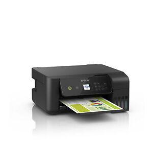 Epson EcoTank ET-2720 A4 3-in-1-Tintenstrahldrucker 3,7cm mit großer LCD-Anzeige