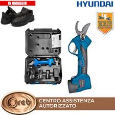 Forbici da potatura a batteria Hyundai 35502 per vendemmia con kit accessori