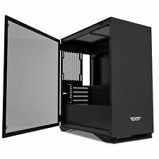 darkFlash DLM22 M-ATX Tower Gaming Computer PC Case Desktop Tempered Glass Panel