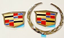 Cadillac ESCALADE EXT 2002 2003 2004 2005 2006 FRONT & REAR EMBLEM REPLACEMENTS!