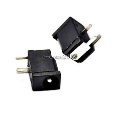 10pcs DC Power Jack Socket DC-002 1.3 x 3.5 mm Black 3.5-1.3MM