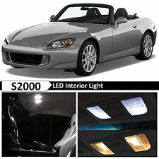 White Interior License Plate LED Light Package Fits 2000-2009 Honda S2000 S2K