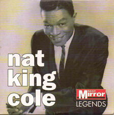 NAT KING COLE: LEGENDS - 10 TRACK PROMO CD (2007) PAPER MOON, EMBRACEABLE YOU ++