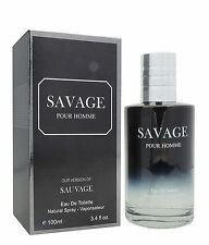 SAVAGE POUR HOMME designer impression EDT 3.4 oz cologne spray by CHRIS DESIGNER