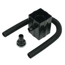 STRAIGHT WATER BUTT RAIN DIVERTER KIT FITS SQUARE & ROUND PIPE (NO TAP)