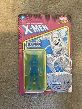 ?Marvel Legends Iceman Hasbro Kenner Retro Action Figure 3.75? UNPUNCHED?