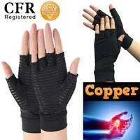 CFR Copper Arthritis Compression Gloves Wrist Heal Carpal Tunnel Sports Brace