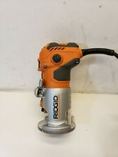 Ridgid R2401 Corded Laminate Palm Router Trimmer Variable Speeds, Free Shipping