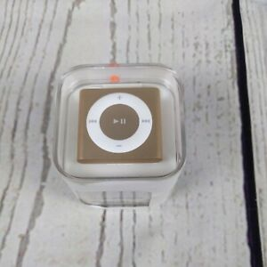 Apple iPod Shuffle 4th Generation - GOLD -ROSE GOLD 2GB brand new sealed