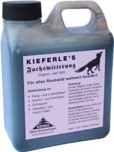 1L Kieferle's Fuchswitterung - Das Original seit 1925 - Fuchslockmittel 010.017