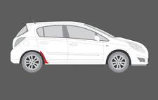VAUXHALL Corsa D (5dr) chiaro posteriore Trim/ALA Arch scheggiatura Vernice Protezione Pellicola