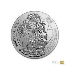 2018 1oz Rwanda Nautical Series Endeavour Silver Coin
