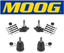 Chevy C1500 Express Tahoe RWD Set of Front Upper and Lower Ball Joints 4PCS Moog