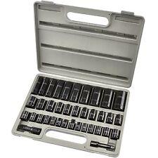 Complete 3/8 & 1/2 Drive Impact Deep Socket Set I CR-V Steel I SAE