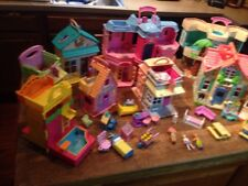 FISHER PRICE 9 SWEET STREETS PLAY HOUSES WITH ACCESSORIES