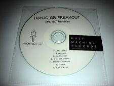 Banjo or Freakout - Mr.No Remixes - 7 Track