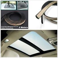 Car Windshield Sunroof 5M Sealant Rubber Sealing Strip EPDM Waterproof Dustproof