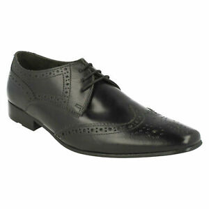 BASE LONDON MENS SMART LACE UP LEATHER BROGUES FORMAL SHOES CHARLES MTO