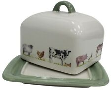 Lenoardo Collection Extra Large Bell Haut Fin Chine Ferme Beurrier