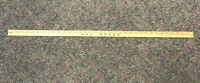 Vintage Retail Defunct Fay Drug Store Yardstick NOT FAY DRUG STORE-MORE RARE!!