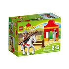 10568 Lego Knight Tournament Duplo Age 2-5 / 16 Pieces / New 2014 Release!