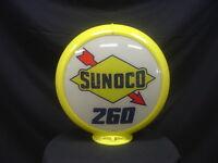 SUNOCO 260 GAS PUMP GLOBE