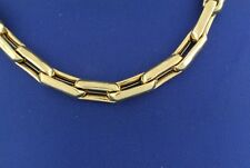 "Handmade 14k Two-Tone Gold Fancy Men's Chain Necklace, 26"", 30.4gm, S104145"