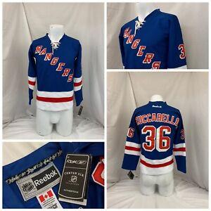 New York Rangers Reebok Jersey S Boys Blue Zuccarello NWT YGI S1-495