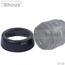 Lens Hood ES-62+ ER-62 f Canon EF 50mm f/1.8 II—High Quality ABS Material