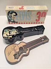 NIB Elvis 30th Anniversary Commemorative Watch in Guitar Case & Box