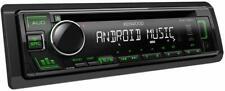 Autoradio Stereo Kenwood KDC130UG USB Mp3 1 DIN Nero VERDE CD CD-R