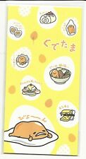 Sanrio Gudetama Envelopes For Gift Money Musubi Food