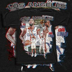 Los Angeles Clippers Kawhi Leonard x Paul George Shirt Basketball Champs Playoff