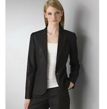 Theory black wool blend women's blazer Sz S Small