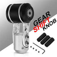 Aluminum Universal Manual Car Truck Gear Stick Shift Shifter Lever Knob Black