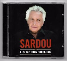 DOUBLE CD / SARDOU - BEST OF LES GRANDS MOMENTS  / ANNEE 2012 (33 TITRES)