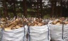 LOGS 1 Ton Builder Sacks Seasoned Fire Wood Oak Beech Birch Ash 4 Log Burner